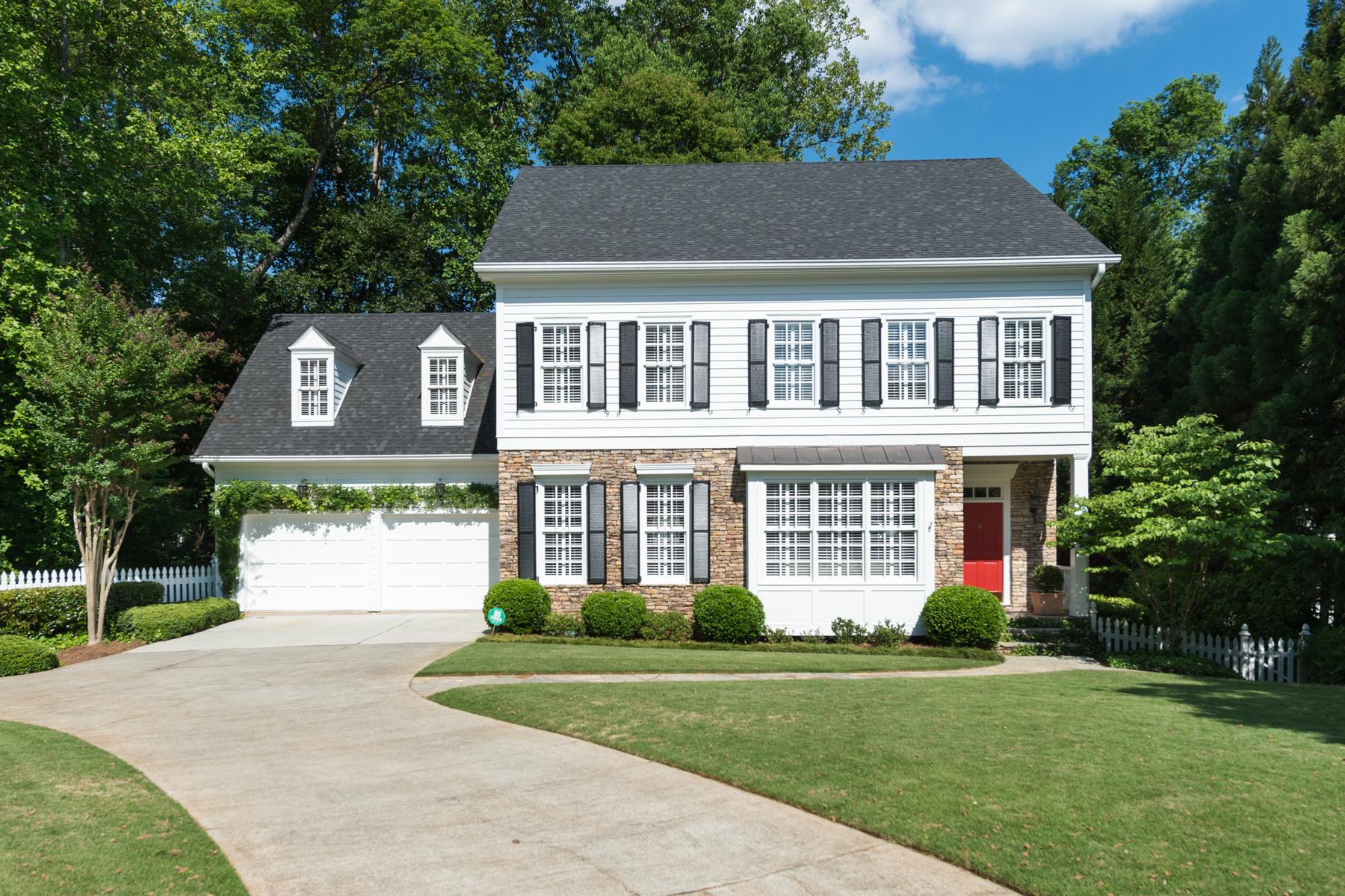 Tek Ailelik Ev için Satış at Charming Brookhaven Home 1070 Brookhaven Lane NE Brookhaven, Atlanta, Georgia 30319 Amerika Birleşik Devletleri