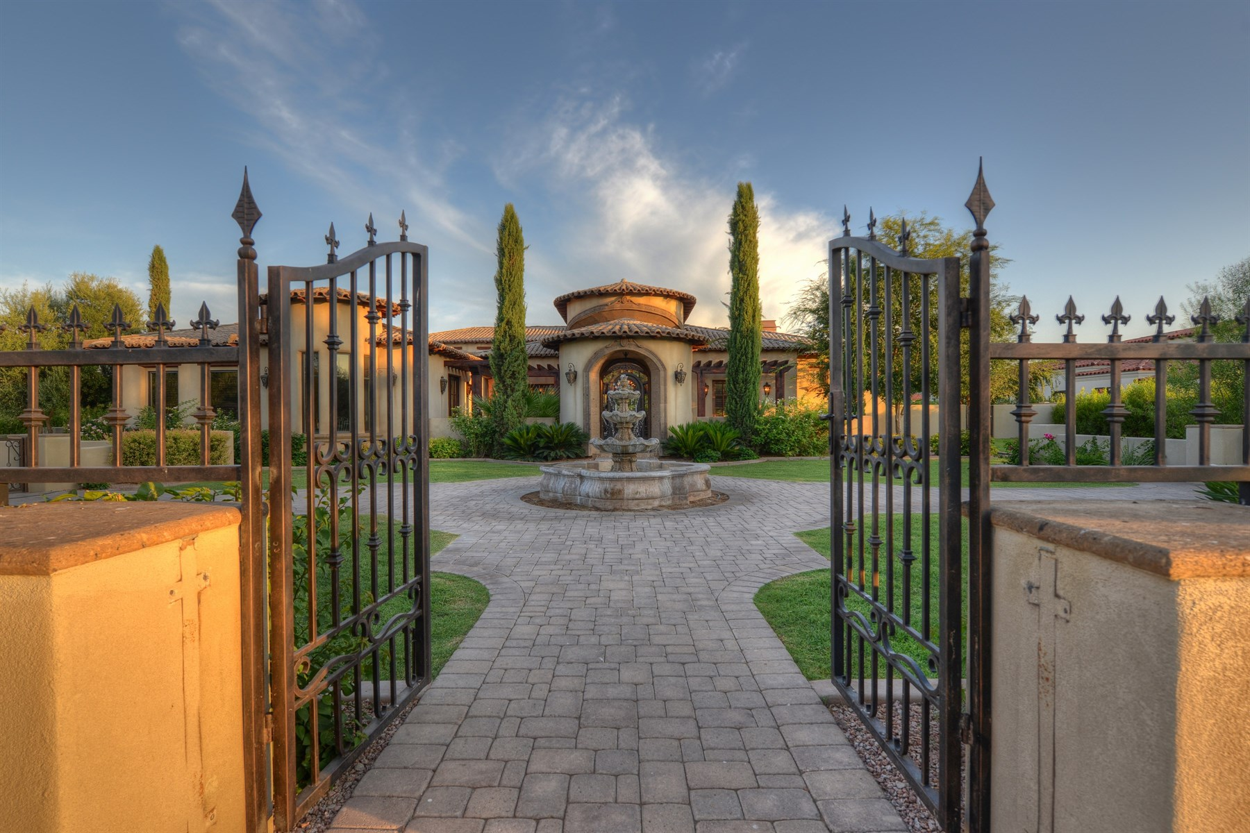 Property For Sale at A one of a kind custom built estate in Paradise Valley.