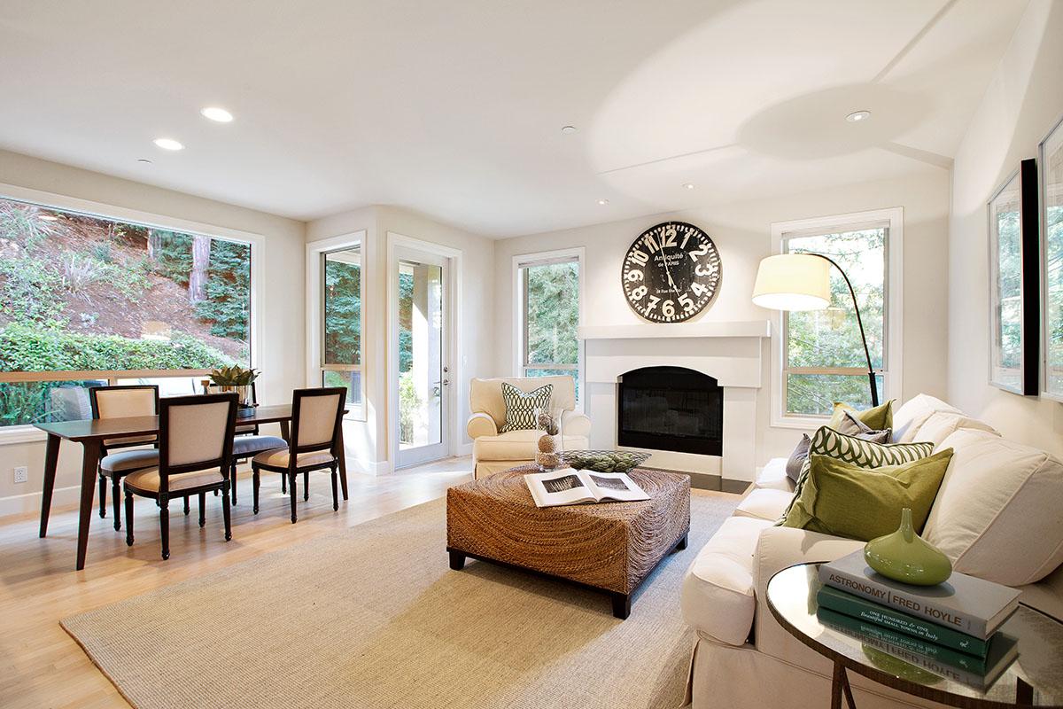 Casa Unifamiliar por un Venta en Architecturally Stunning Private Estate 255 Ralston Avenue Mill Valley, California, 94941 Estados Unidos