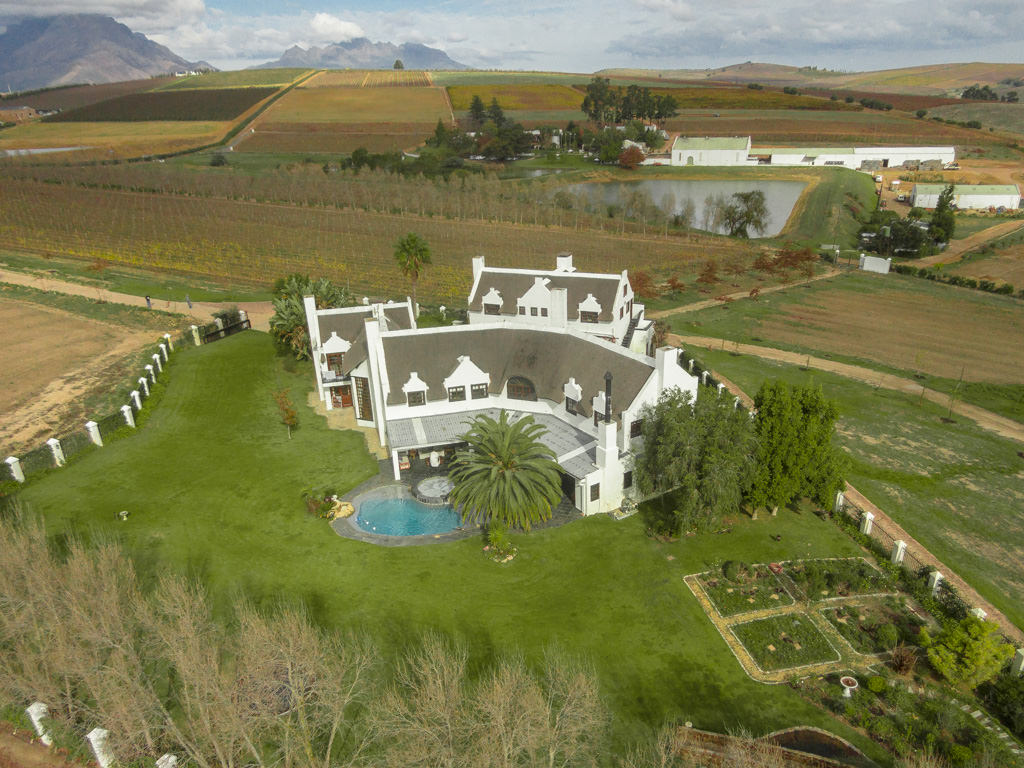 Farm / Ranch / Plantation for Sale at Stellenbosch Lifestyle Farm Stellenbosch, Western Cape, 7600 South Africa