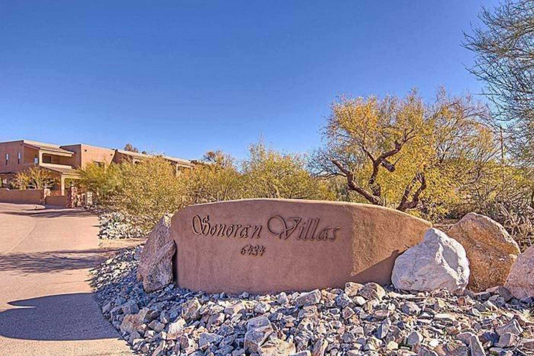 Property For Sale at Sonoran Villas at the base of Black Mountain.