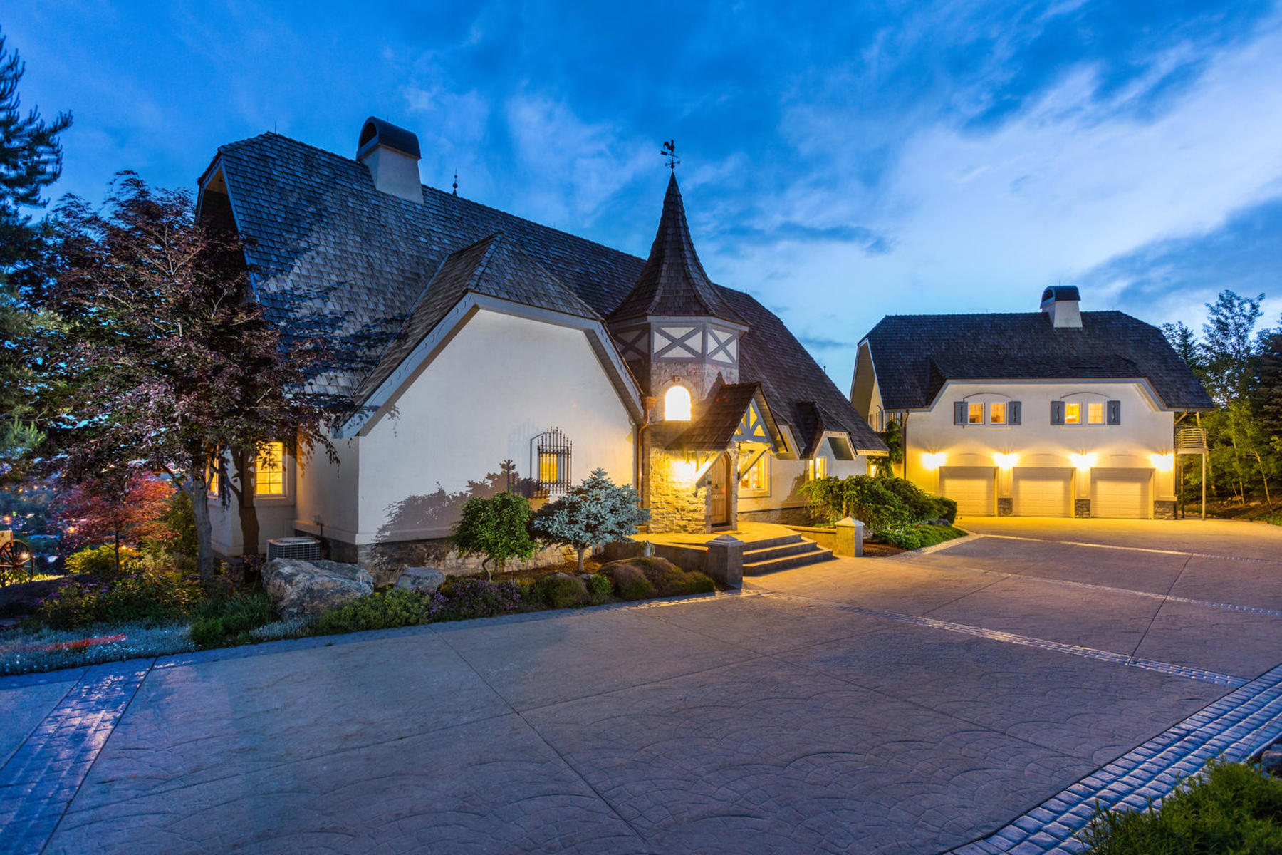 sales property at German Inspired Chateau on 9.7 Acres