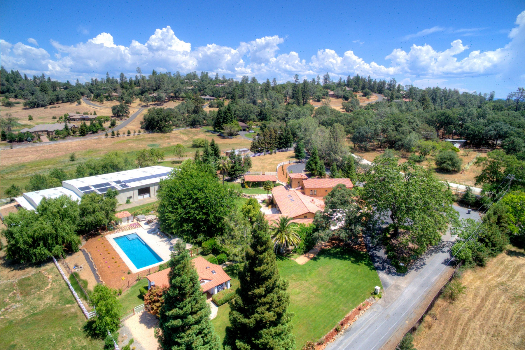 Farm / Ranch / Plantation for Sale at Stunning Equestrian Estate 1320 Winchester Way Auburn, California 95602 United States