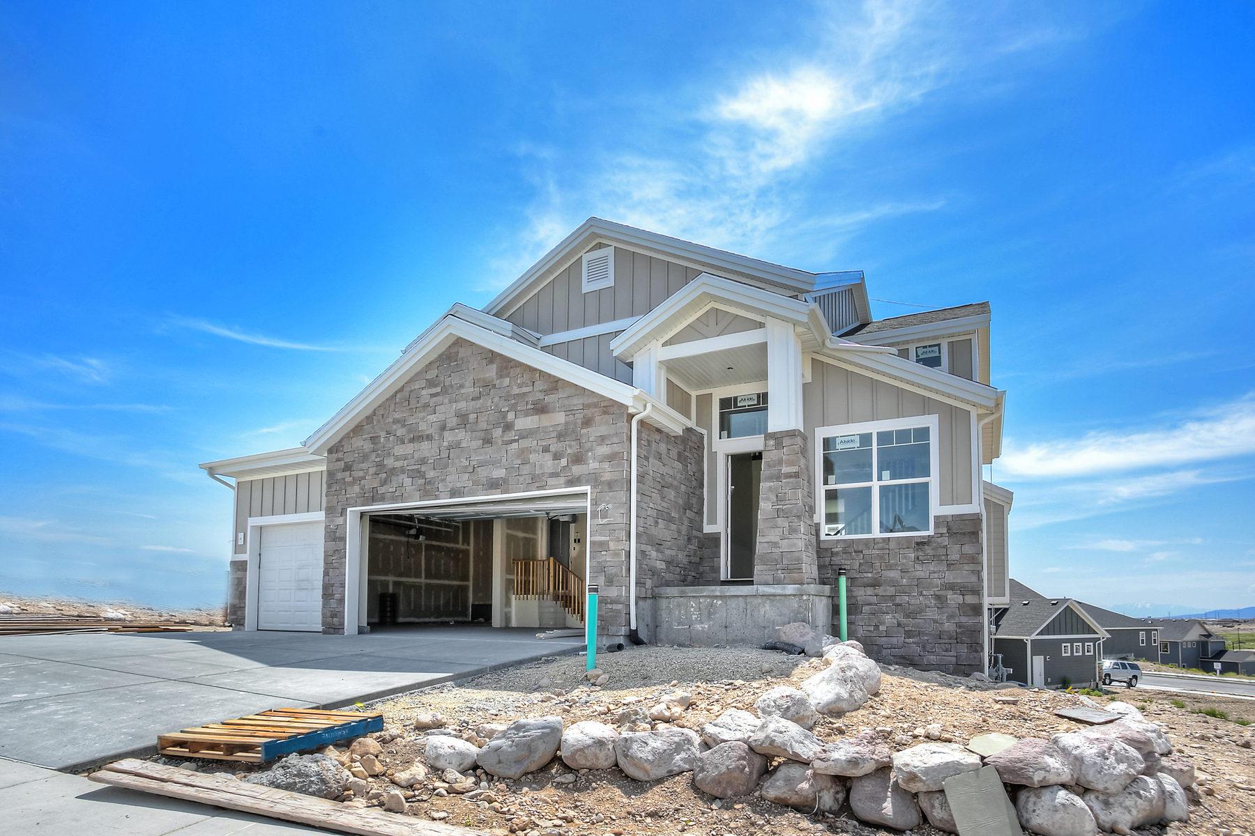 Casa Unifamiliar por un Venta en New Construction in Maple Hills 6461 W Chan Reeses Dr # 1021 West Jordan, Utah 84081 Estados Unidos