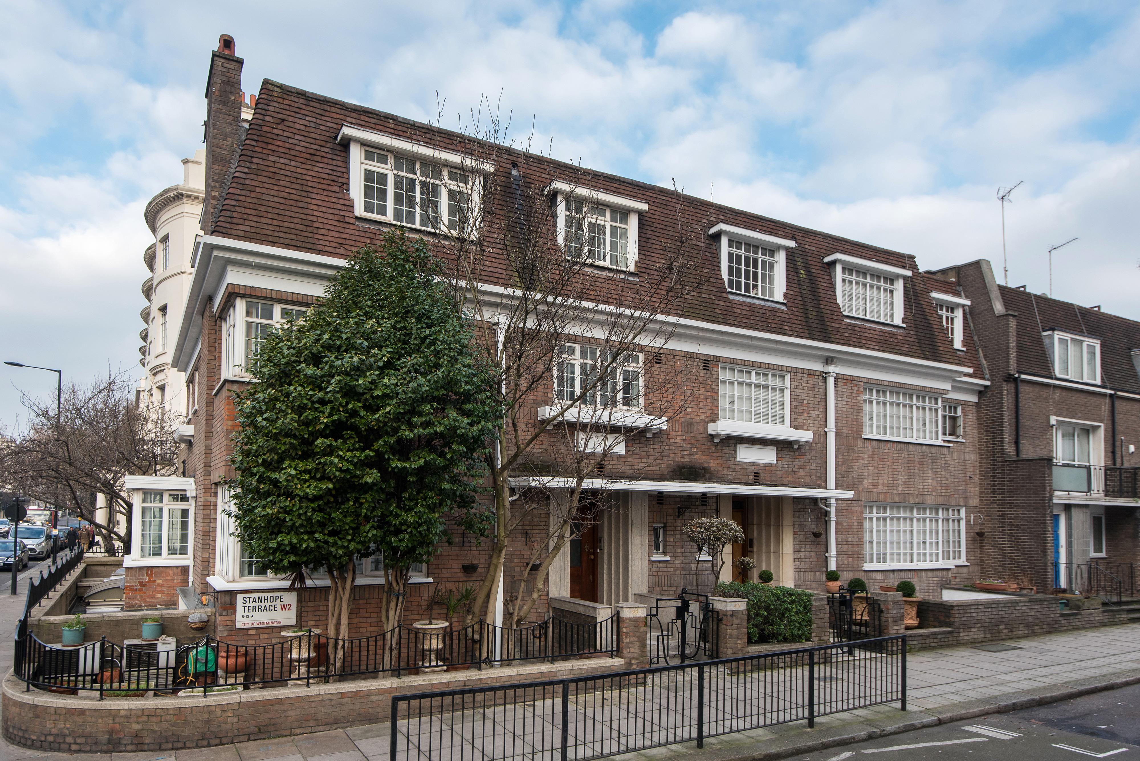 獨棟家庭住宅 為 出售 在 Stanhope Terrace London, 英格蘭 W22UB 英國