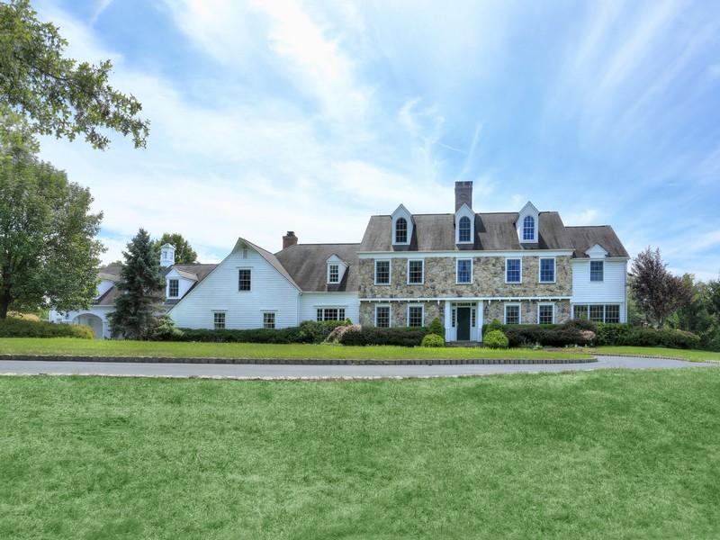 """獨棟家庭住宅 為 出售 在 """"Oakland Farm"""" 520 Pottersville Road Bedminster, 新澤西州 07921 美國"""