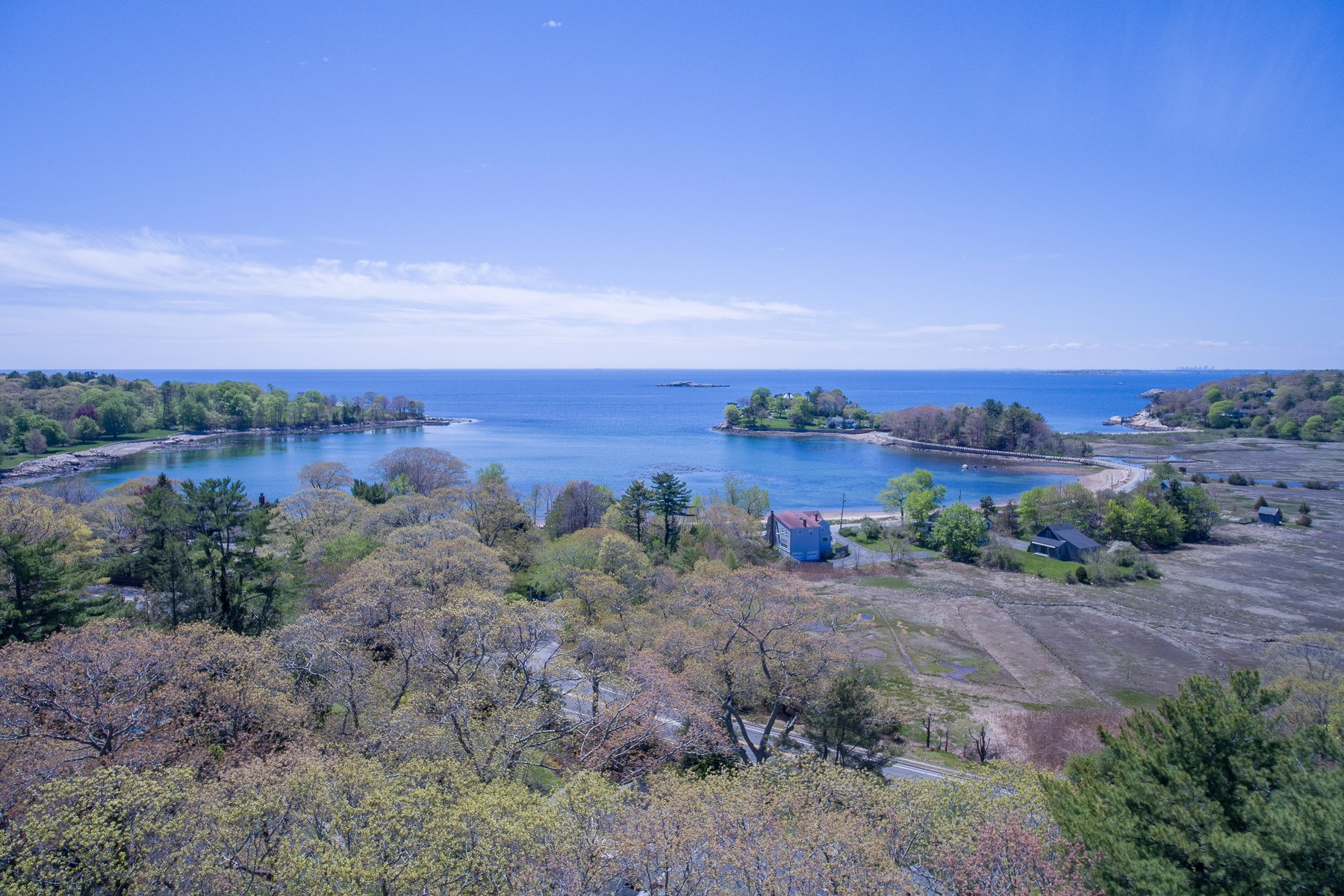 Single Family Home for Sale at Coveted Location with Commanding Views 21 University Lane Manchester, Massachusetts, 01944 United States