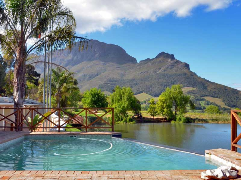 Famous Stellenbosch Guest Farm On Tourist Route