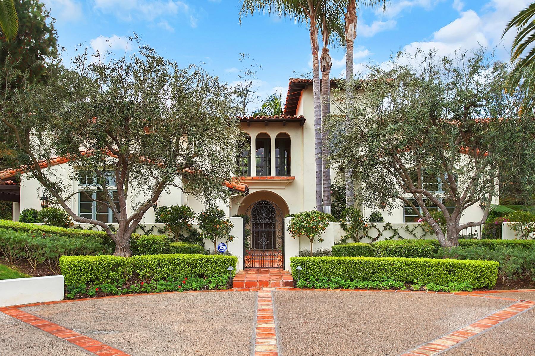 Maison unifamiliale pour l Vente à 5113 El Secreto Rancho Santa Fe, Californie, 92067 États-Unis