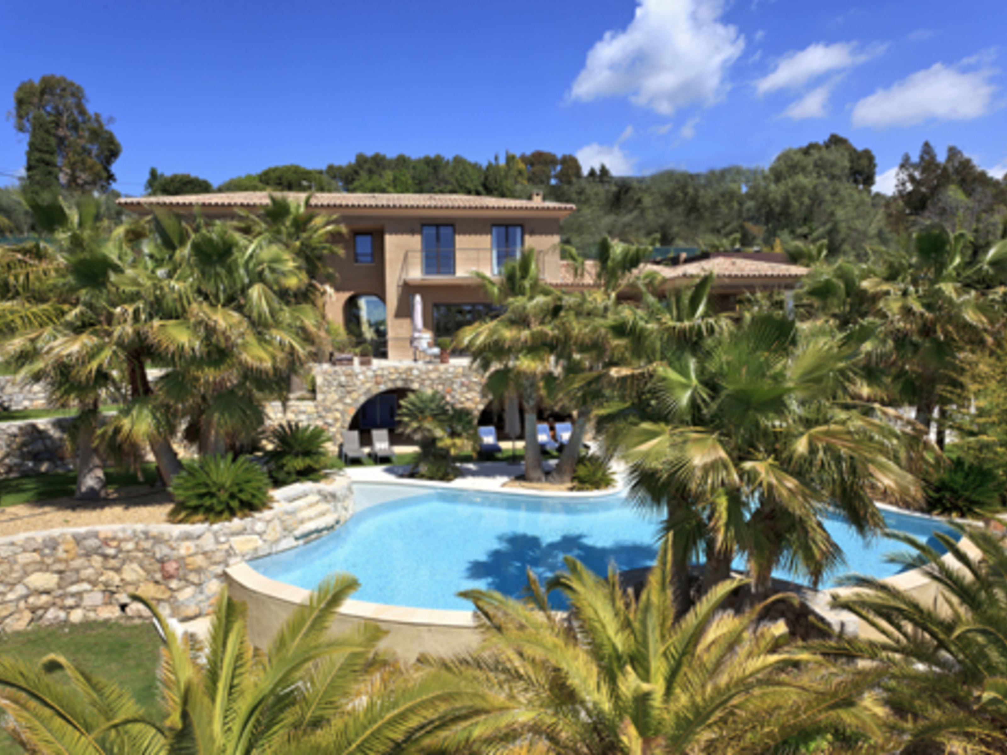 Single Family Home for Sale at Mougins-contemporary style property-view on the village Mougins, Provence-Alpes-Cote D'Azur 06250 France