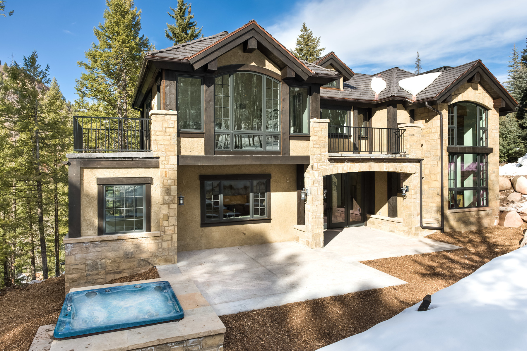 sales property at Brand New Mountain Modern Ski Home