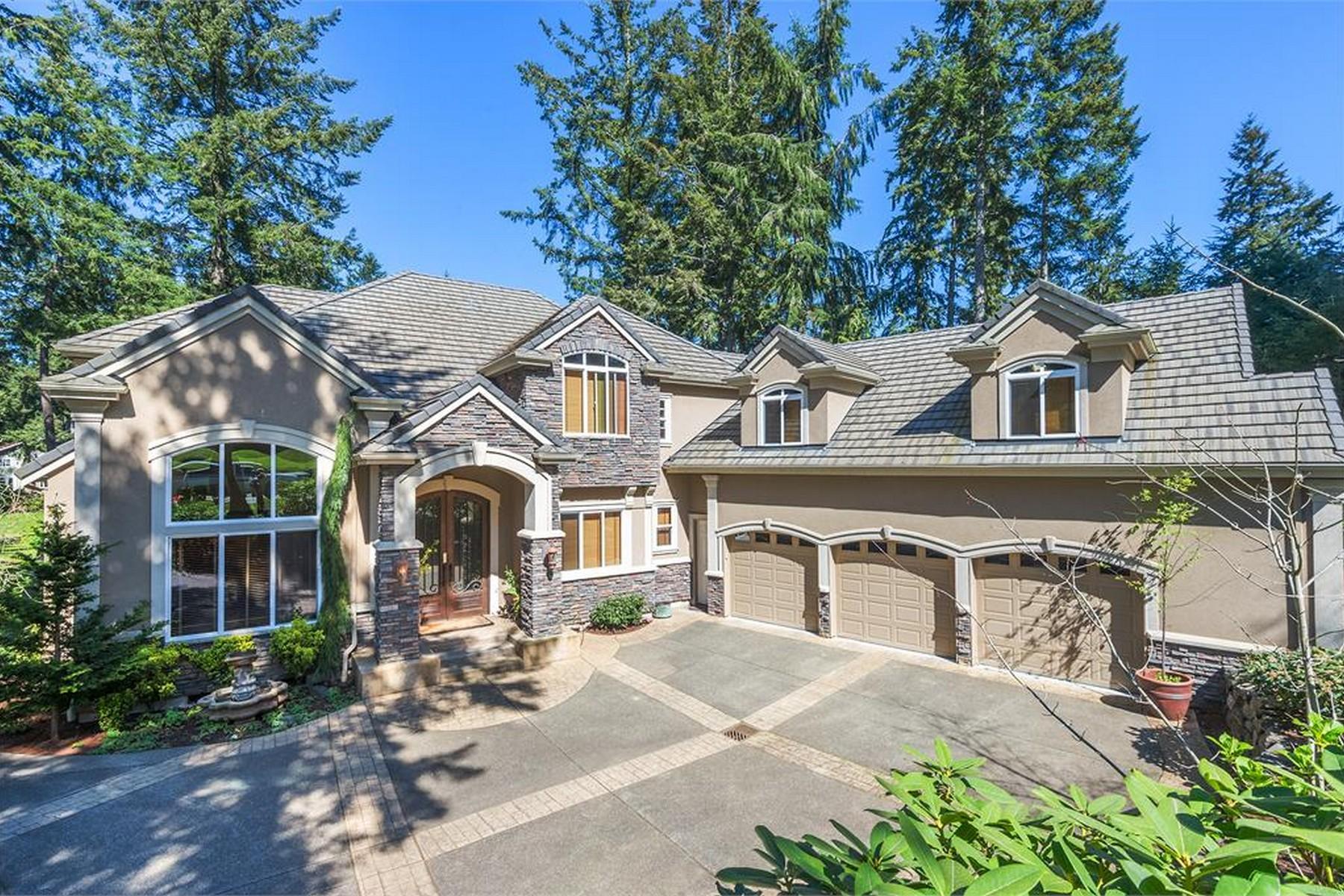 Single Family Home for Sale at Exquisite Canterwood Fairway Estate 4921 Saddleback Drive NW Gig Harbor, Washington, 98332 United States