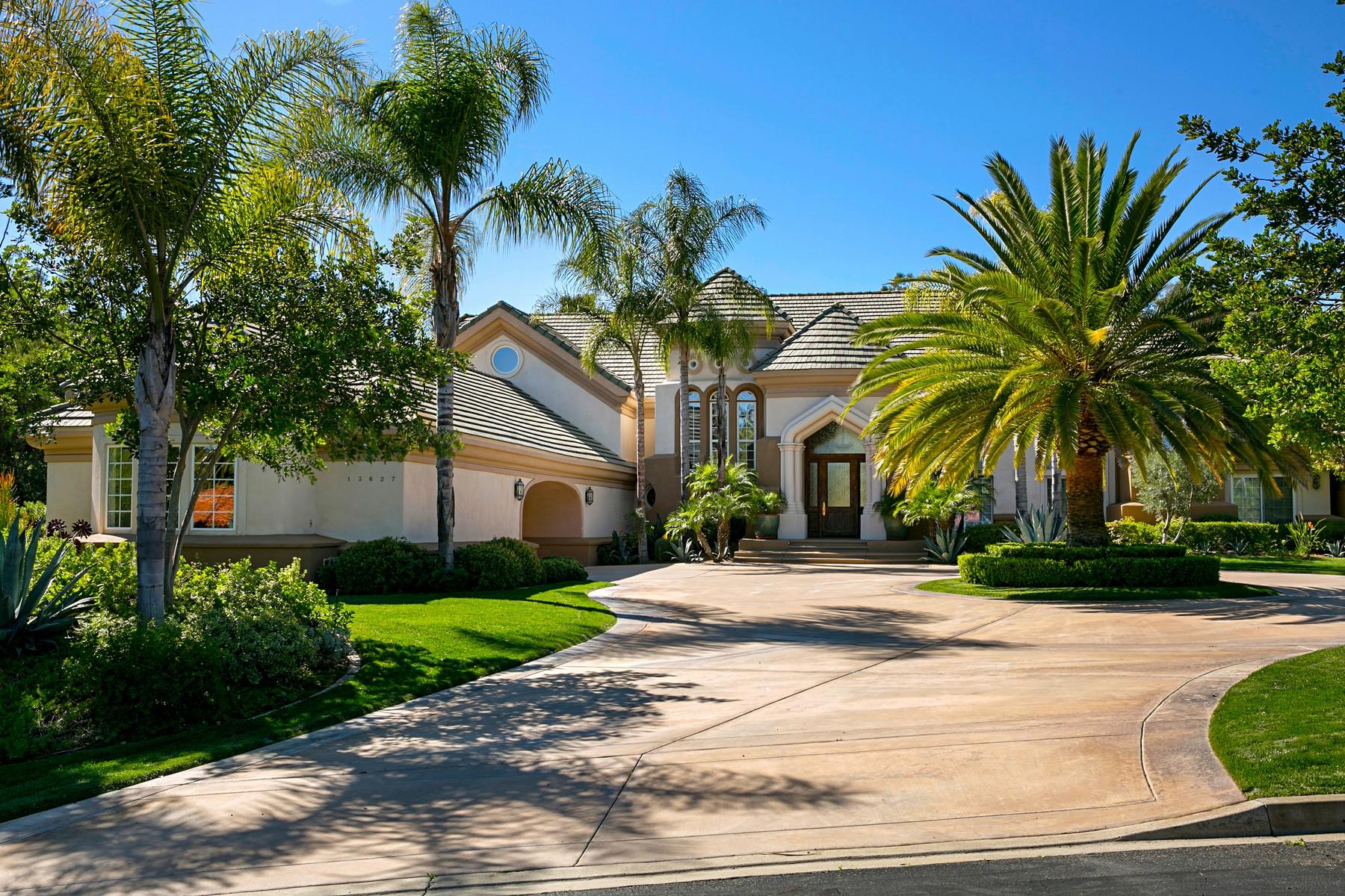 Casa Unifamiliar por un Venta en 13627 Paseo De La Huerta Poway, California, 92064 Estados Unidos