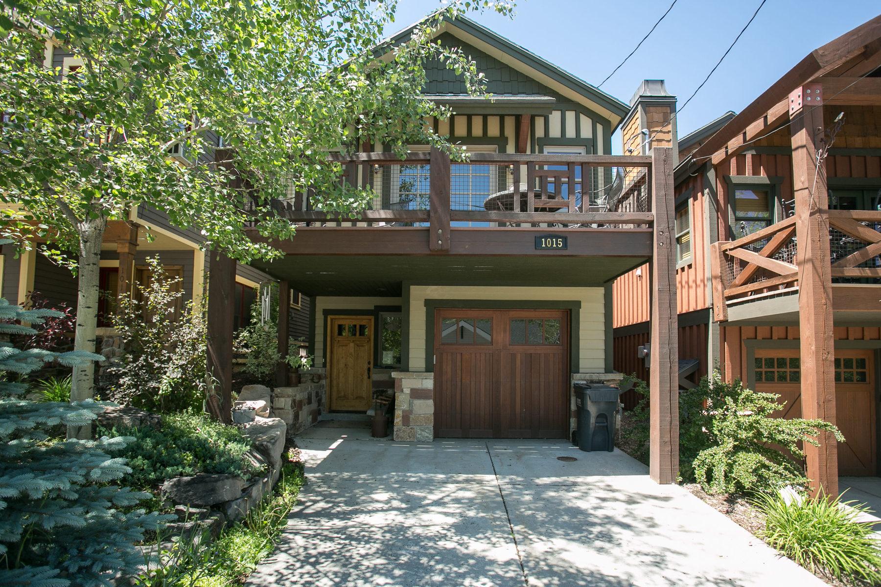 独户住宅 为 销售 在 Fabulous Old Town Custom Home 1015 Norfolk Dr Park City, 犹他州 84060 美国