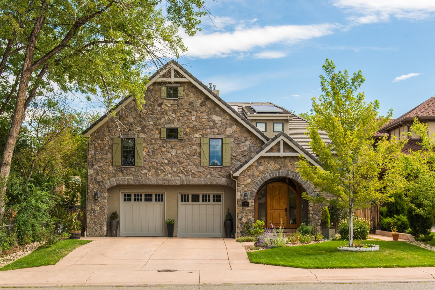 Single Family Home for Sale at Extraordinary living in Hilltop! 380 Forest Street Hilltop, Denver, Colorado 80220 United States