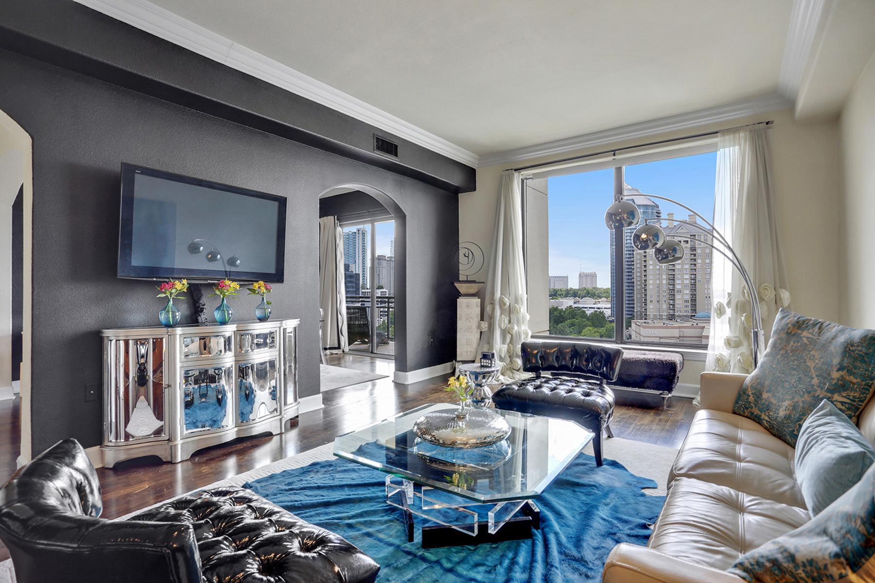 Condominium for Sale at Luxury High Rise In Buckhead 3445 Stratford Road NE #1401 Atlanta, Georgia 30326 United States