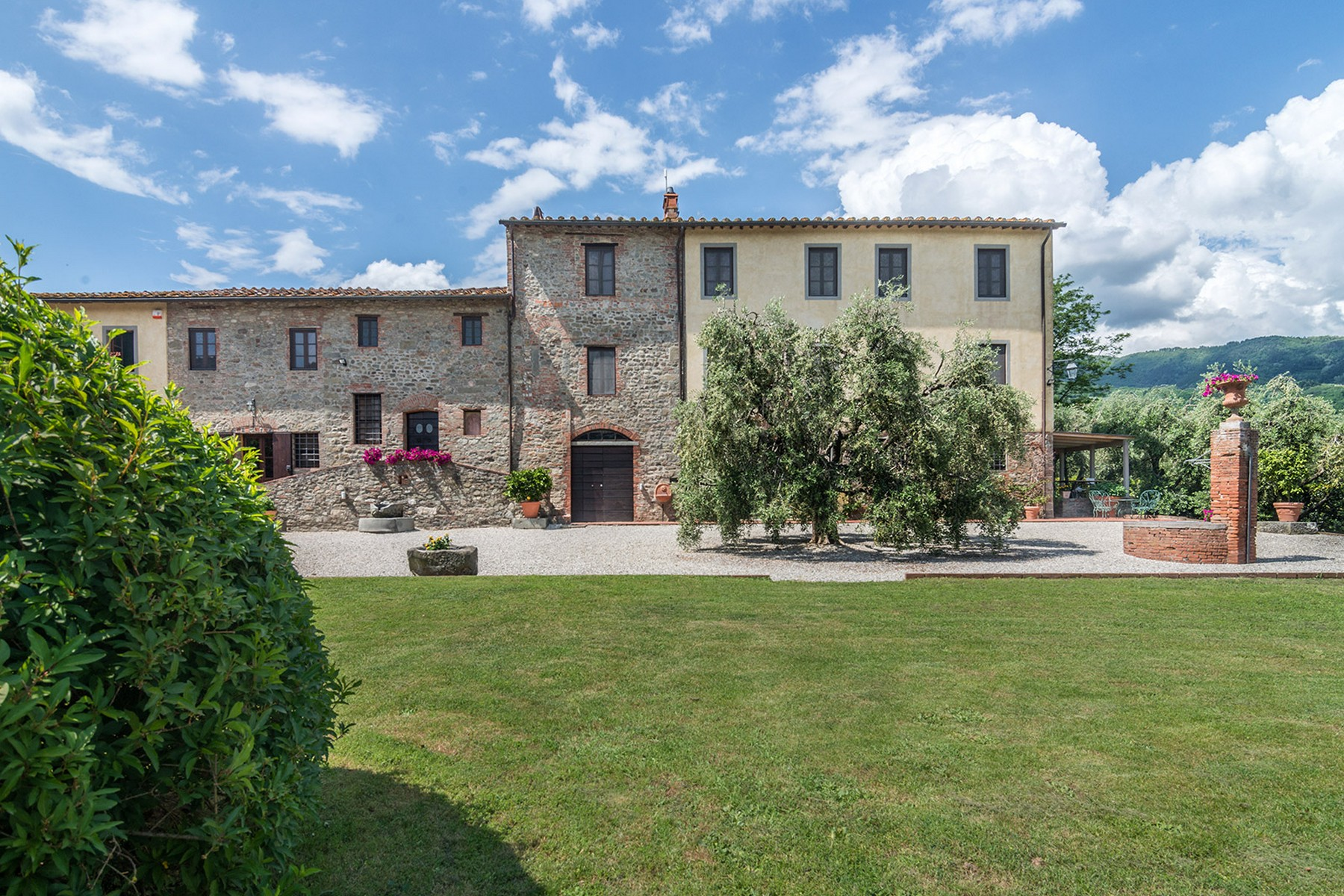Single Family Home for Sale at Tuscan estate near Lucca with land Camigliano San Gemma Camigliano San Gemma, Lucca 55100 Italy