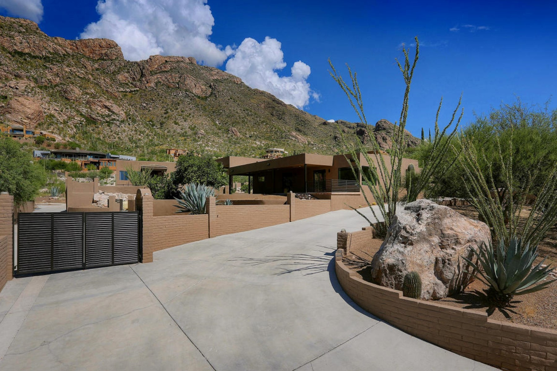 Single Family Home for Sale at Completely remodeled contemporary home 4547 E Coronado Drive Tucson, Arizona, 85718 United States