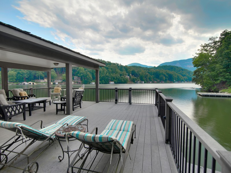 Single Family Home for Sale at North Shore Perfection 335 North Shore Drive Lake Lure, North Carolina, 28746 United States