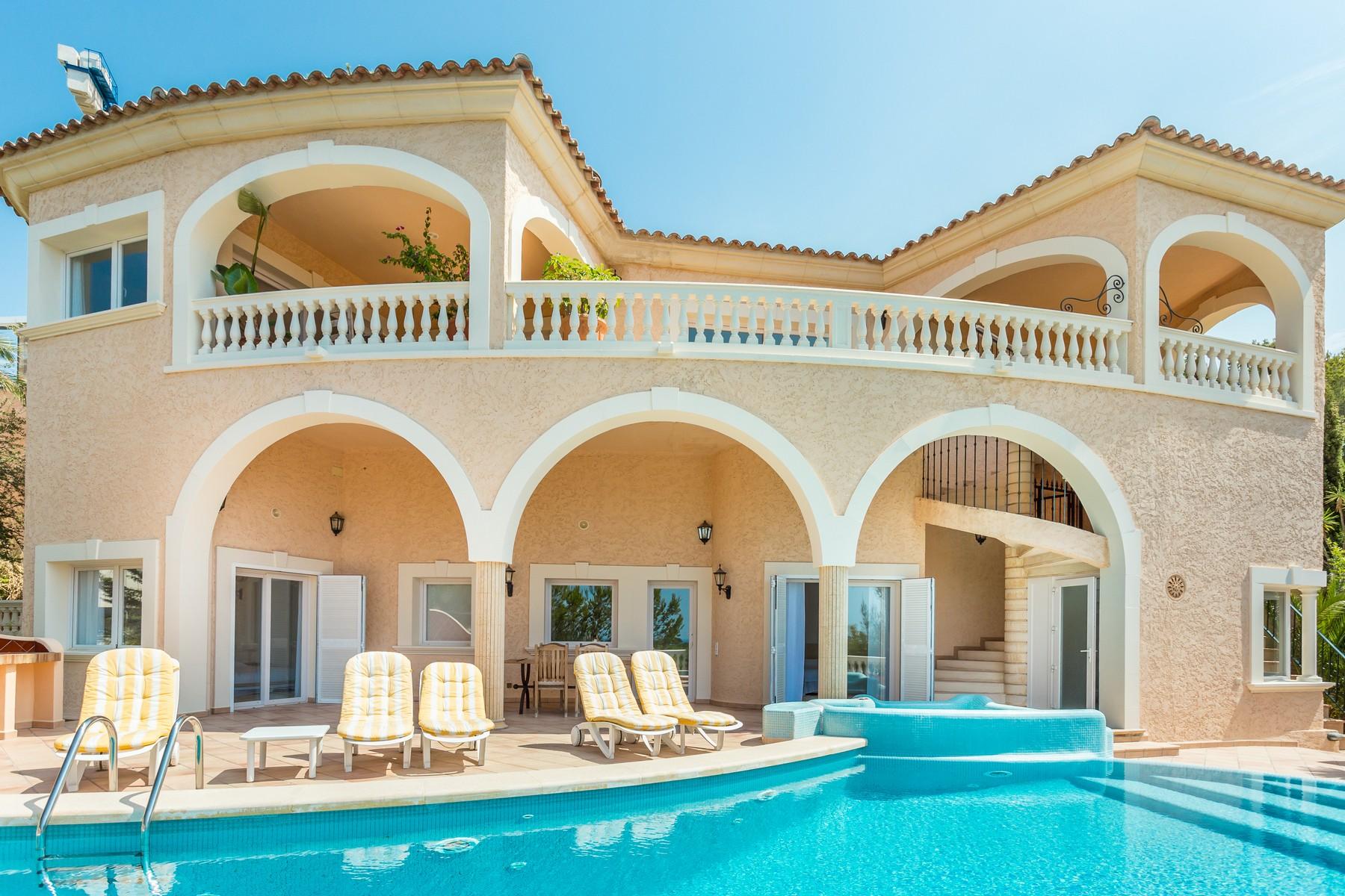 Einfamilienhaus für Verkauf beim Villa mit Meerblick in Bendinat Bendinat, Mallorca, 07082 Spanien