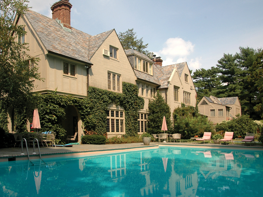 Property For Sale at Normandy-inspired Manor in Princeton