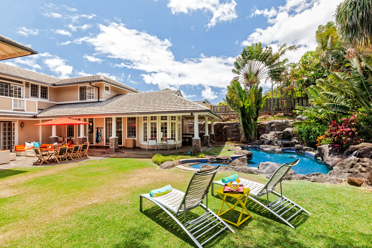 """rentals property at Hale Oahu """"The Gathering Place"""""""