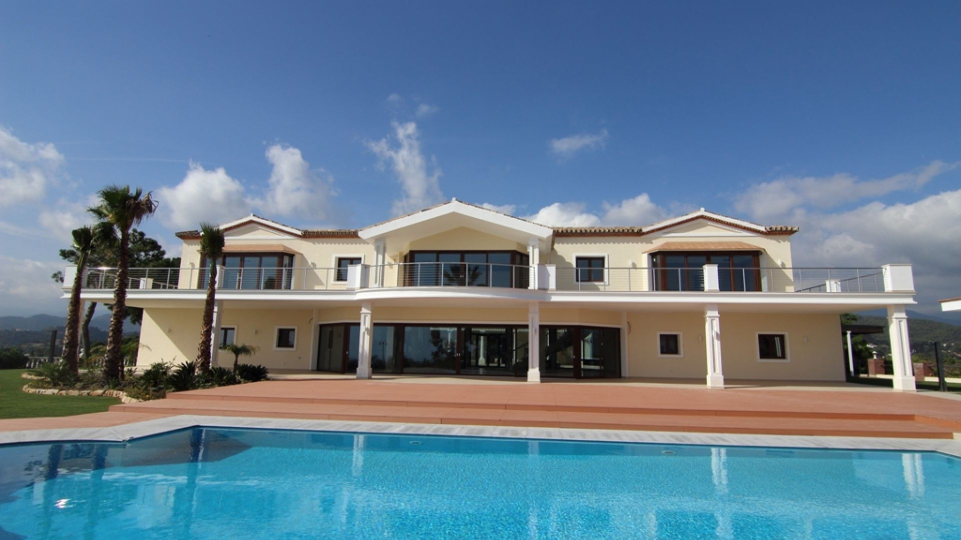 Property For Sale at Luxury villa in a privelaged position in Benahavis.