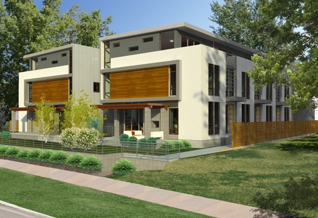 Property For Sale at Amazing new townhouse project in the heart of Cherry Creek North!