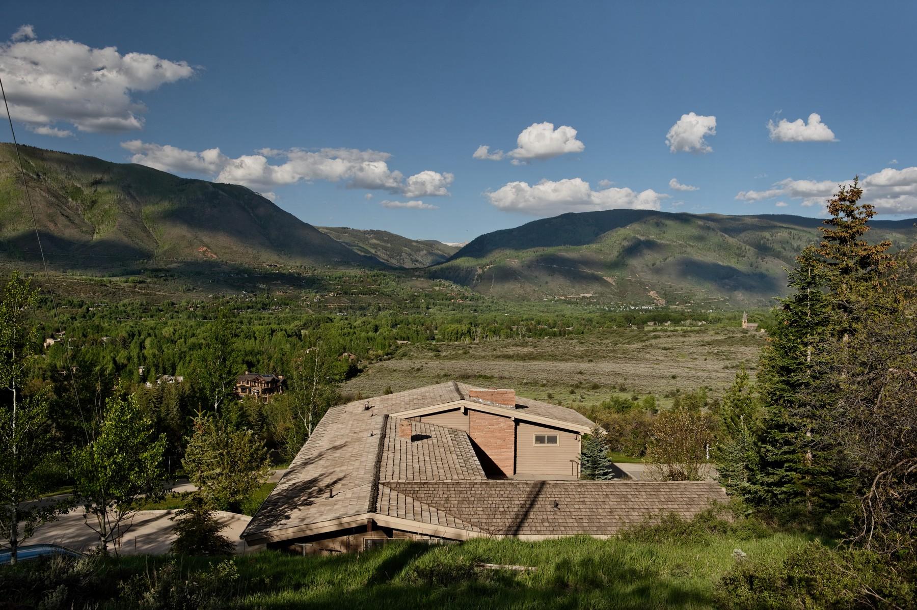 Земля для того Продажа на Wide Open Views 511/TBD Lazy Chair Lane West Aspen, Aspen, Колорадо 81611 Соединенные Штаты
