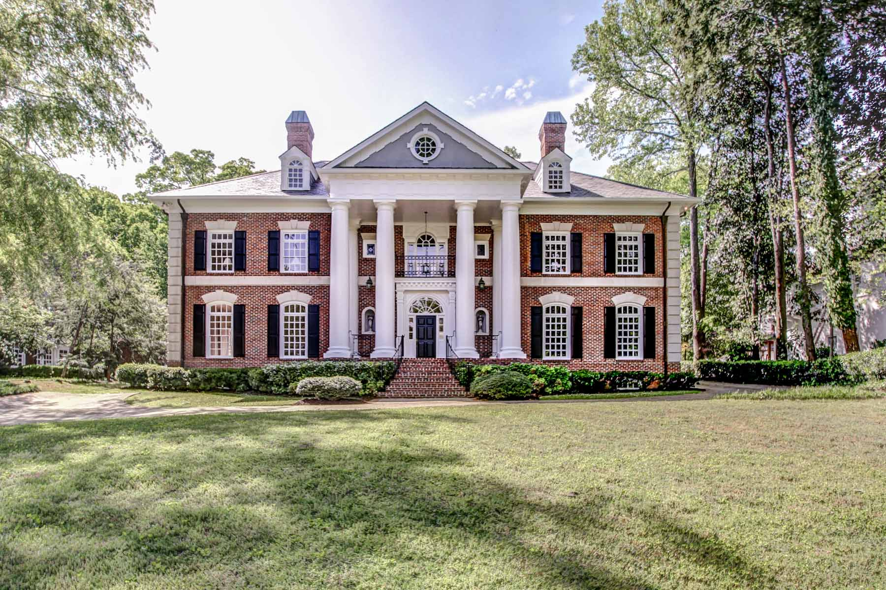 Single Family Home for Sale at First Time Available on Market-Majestic Custom Built Druid Hills Classic! 900 Oakdale Road Druid Hills, Atlanta, Georgia, 30307 United States