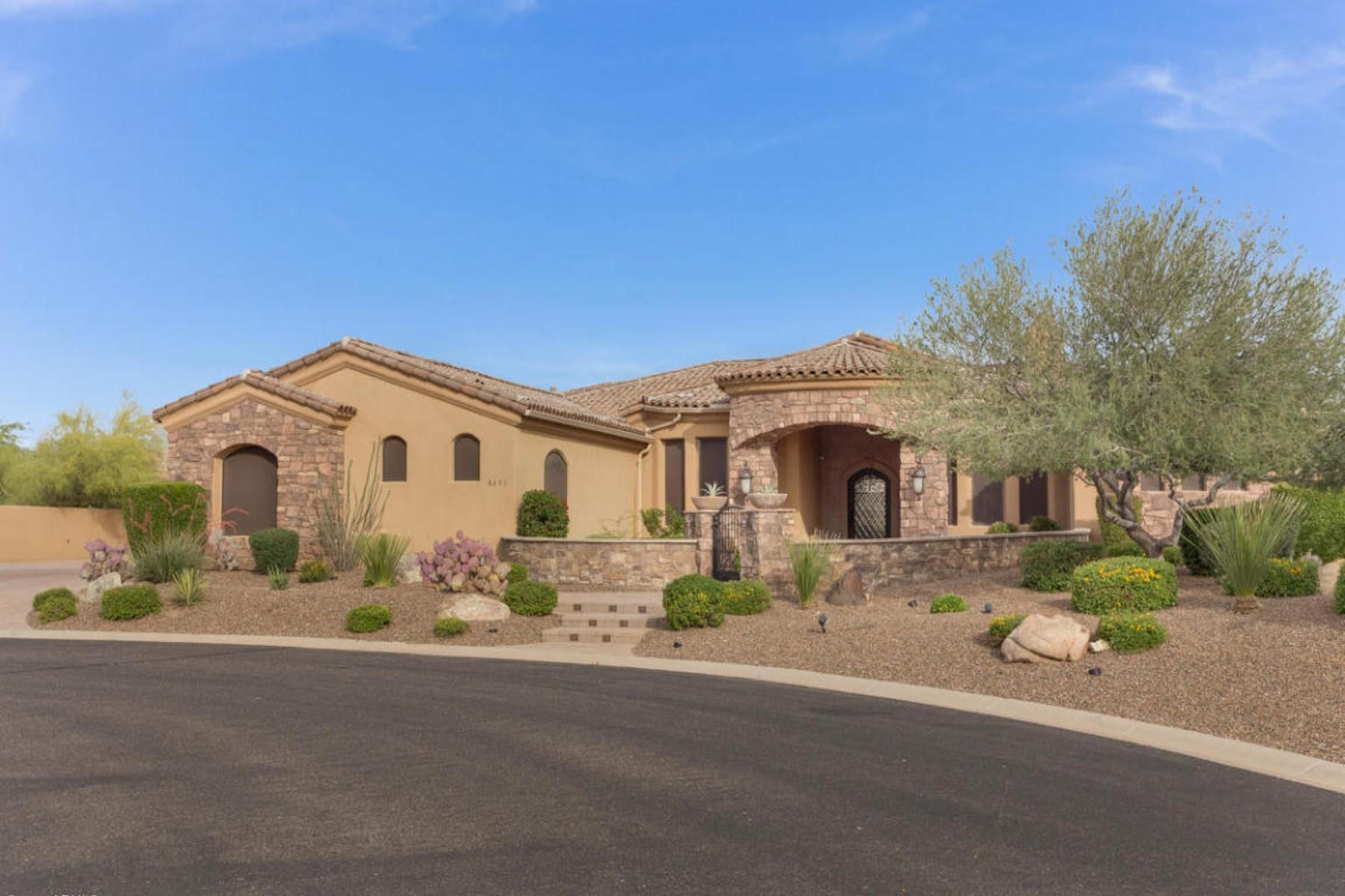 Nhà ở một gia đình vì Bán tại Beautiful well appointed tuscan custom home 8253 E KRAMER CIR Mesa, Arizona 85207 Hoa Kỳ