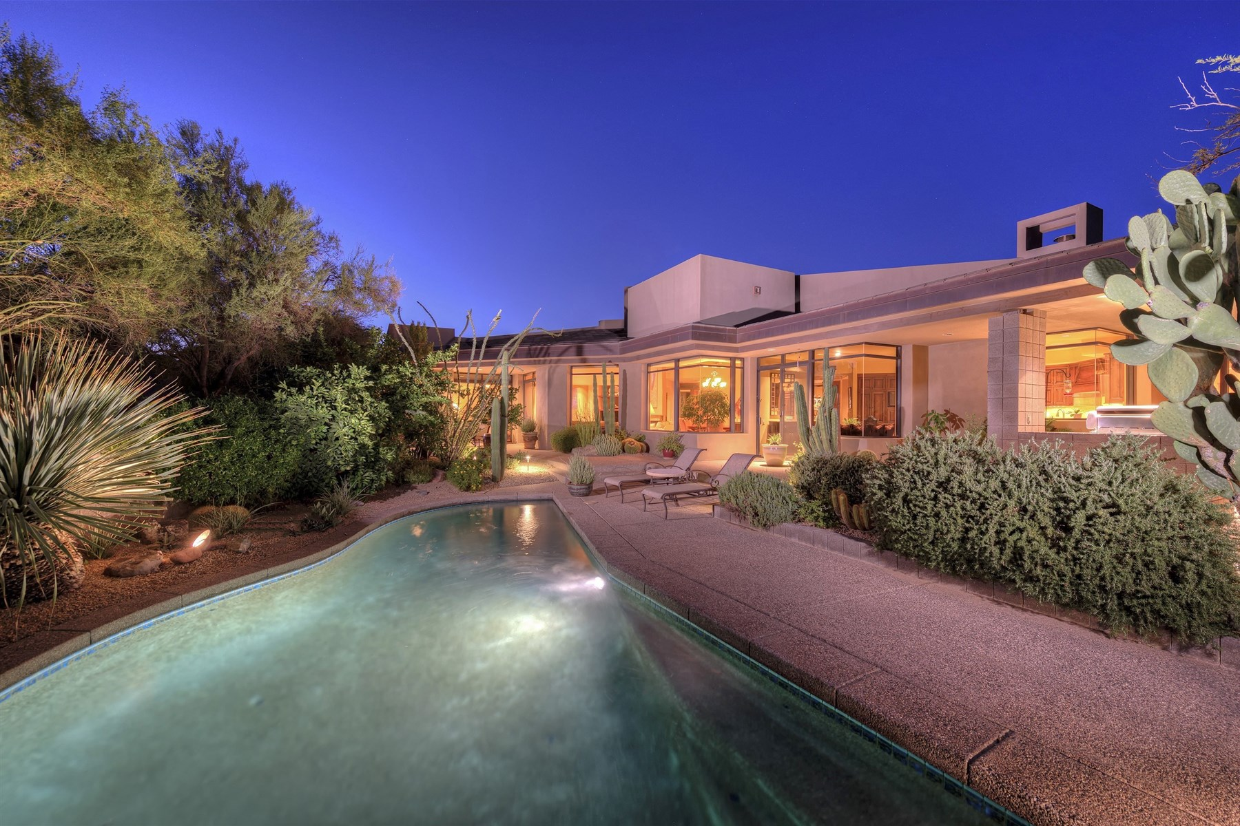 sales property at Lovely Juniper Model with Guest House located in Village of Desert Fairways