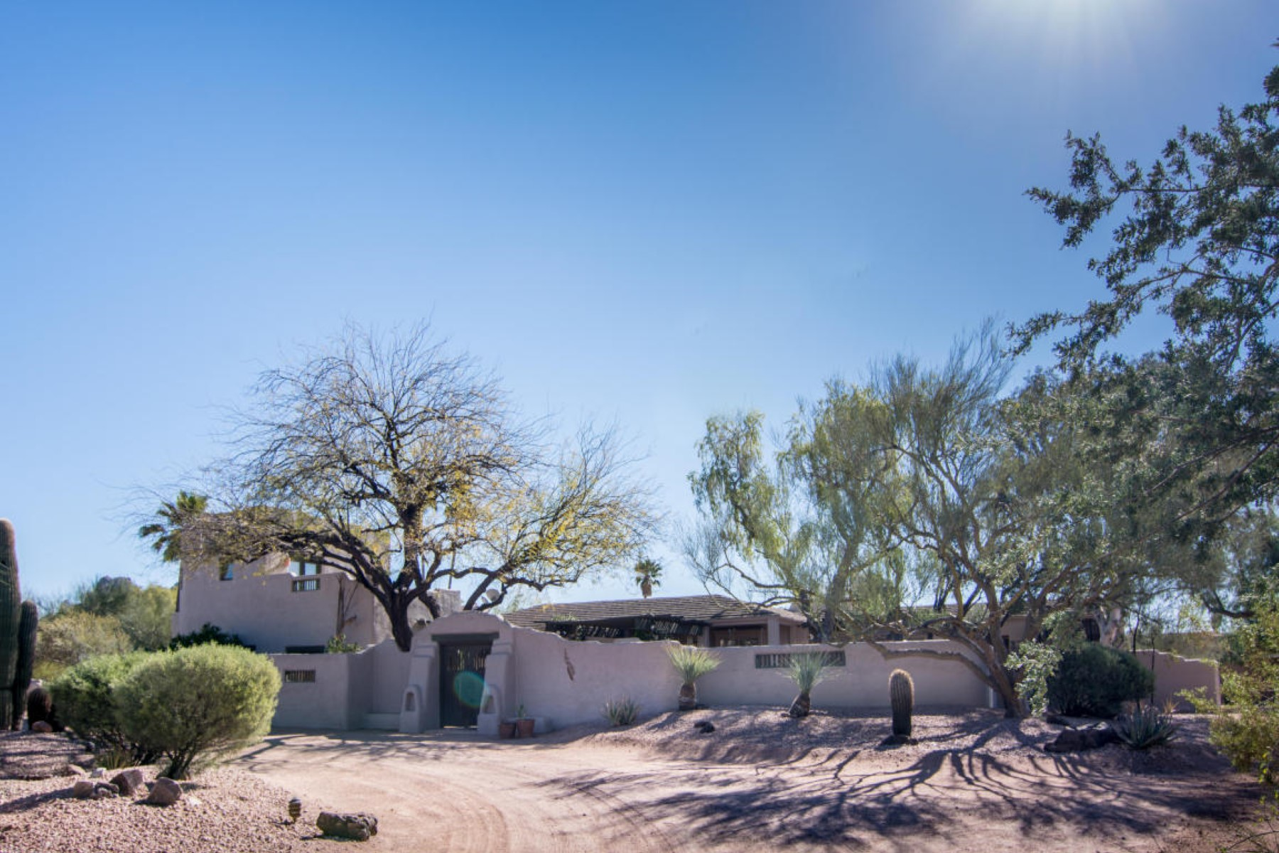 sales property at A unique home is an artistic jewel in desert with soul