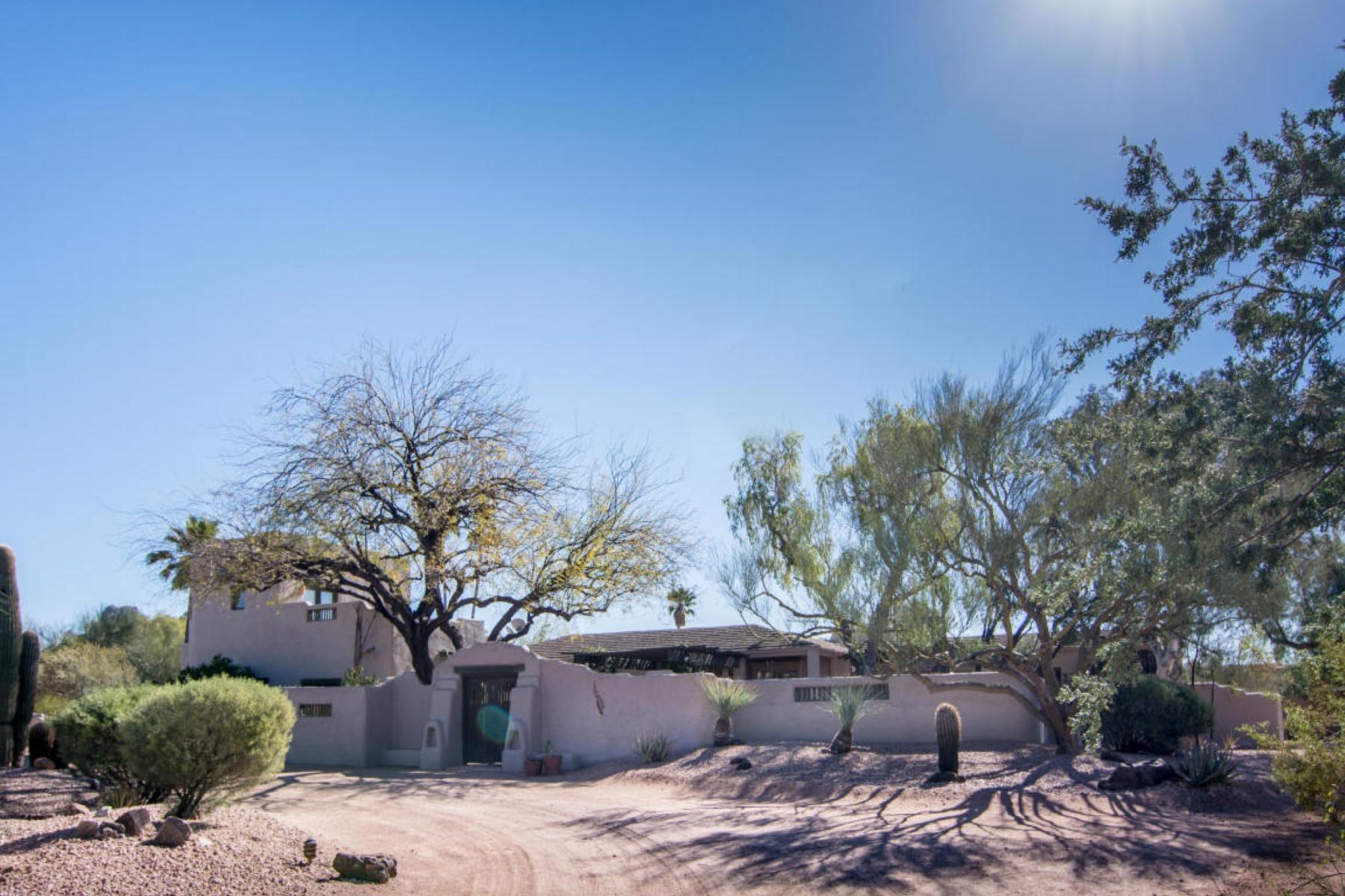 獨棟家庭住宅 為 出售 在 A unique home is an artistic jewel in desert with soul 3653 E Camino Sin Nombre Paradise Valley, 亞利桑那州, 85253 美國