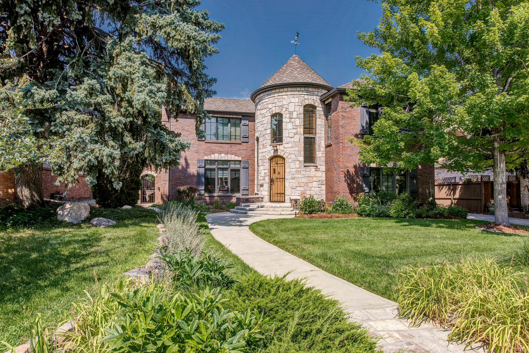 sales property at Stately Tudor in Hilltop
