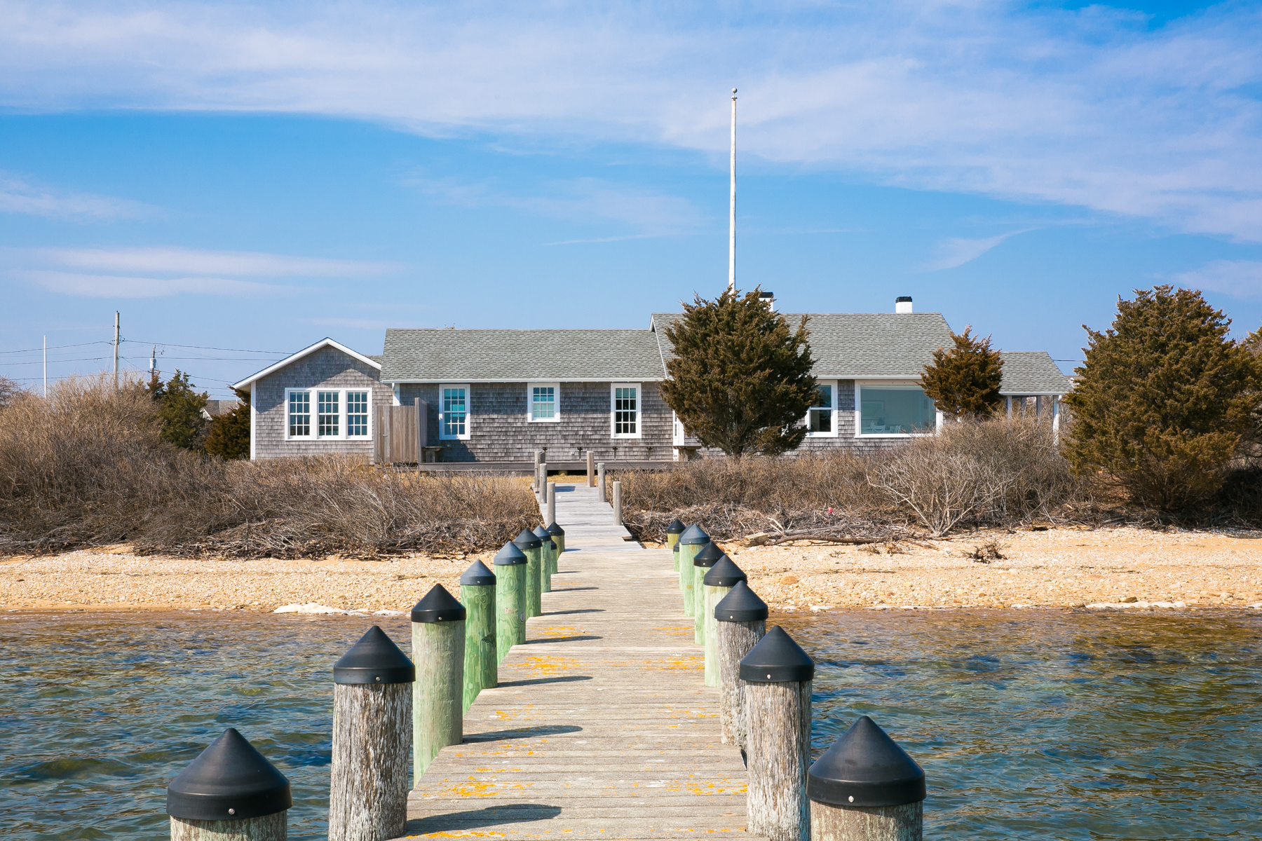 Vivienda unifamiliar por un Venta en Stunning waterfront location on Katama Bay 85 Edgartown Bay Road Edgartown, Massachusetts, 02539 Estados Unidos