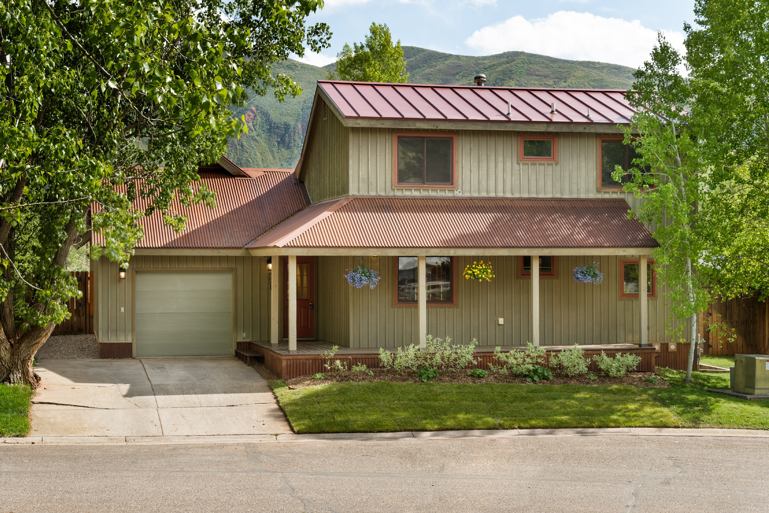 Single Family Home for Sale at Elk Run 521 Park Circle Basalt, Colorado, 81621 United States