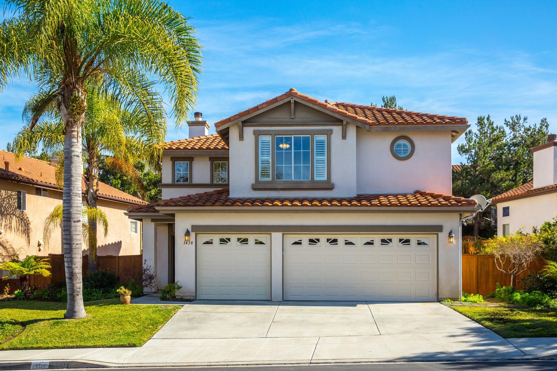 Maison unifamiliale pour l Vente à 1438 Turquoise Drive Carlsbad, Californie 92011 États-Unis