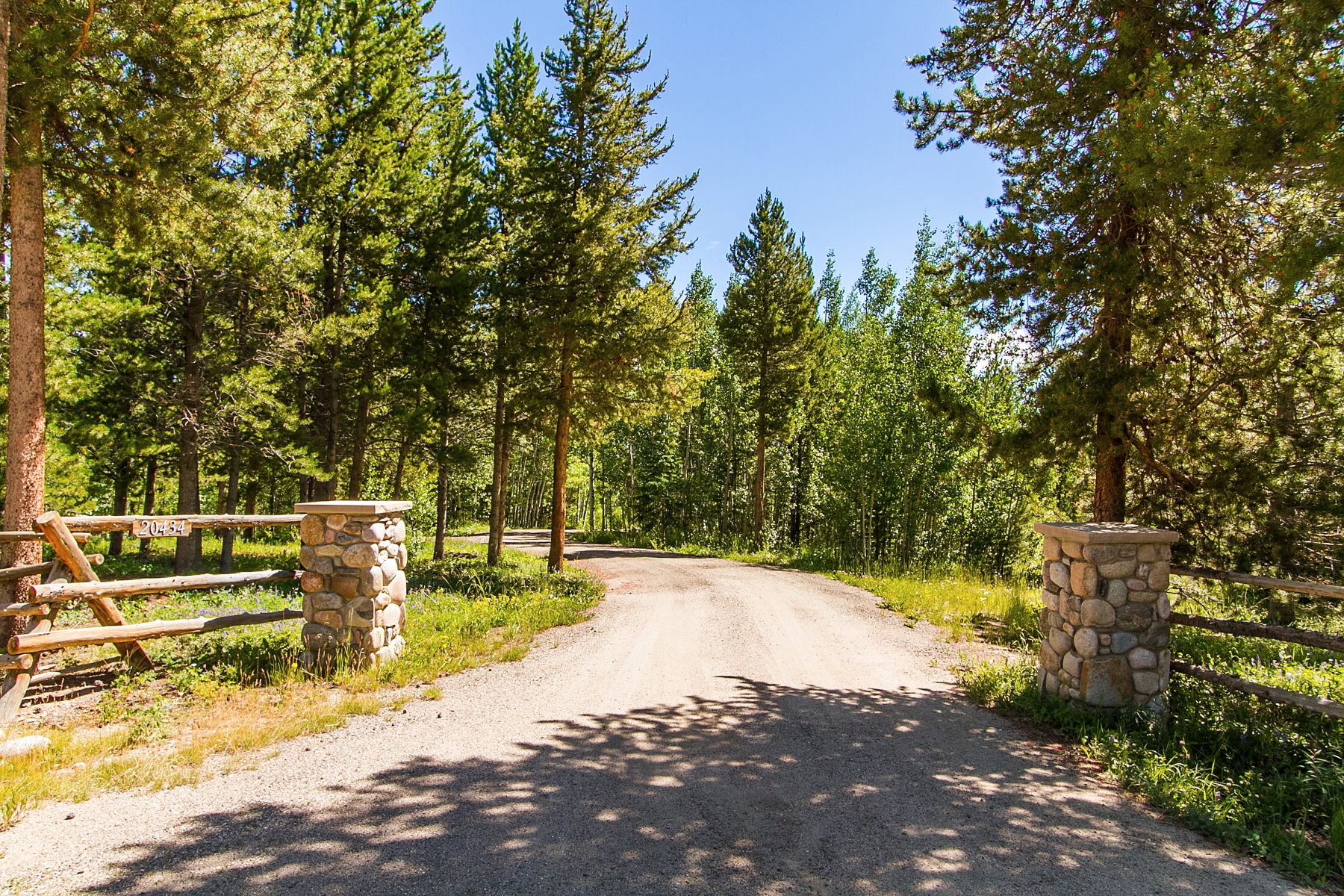 Single Family Home for Sale at Custom home nestled on 37 acres surrounded by lush forest 20434 County Road 50 Fraser, Colorado, 80442 United States