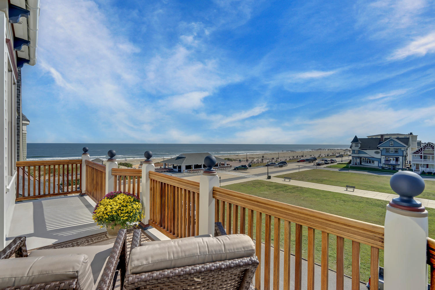 Single Family Home for Sale at Custom Seaside Victorian In Ocean Grove! 1 Ocean Pathway Ocean Grove, New Jersey 07756 United States