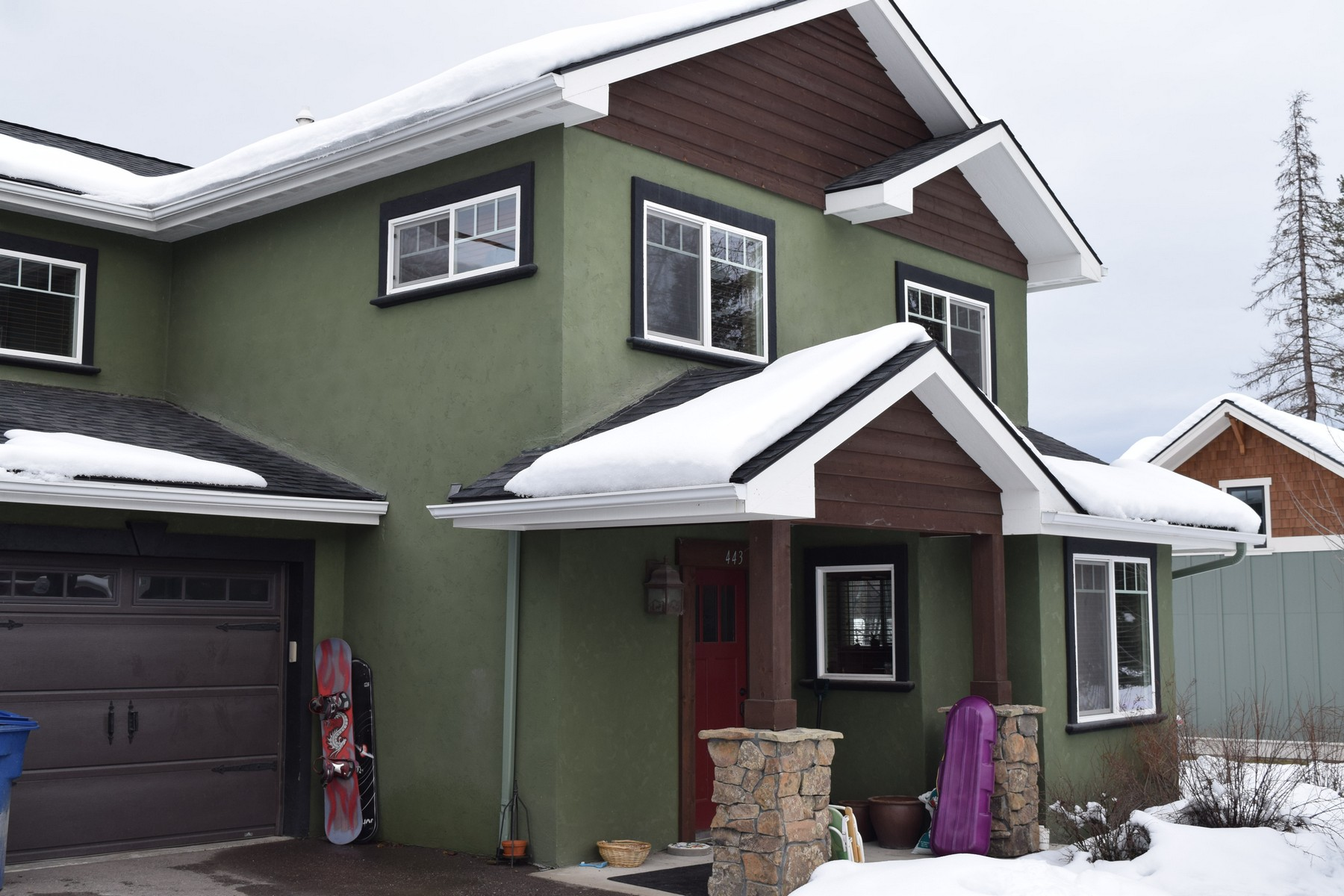 Villetta a schiera per Vendita alle ore Karrow Townhouses 441 Karrow Avenue Whitefish, Montana, 59937 Stati Uniti