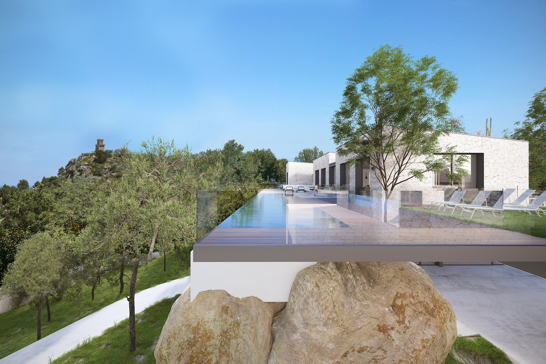 Multi-Family Home for Sale at Finca with Project to reform Valldemossa, Mallorca, 07170 Spain