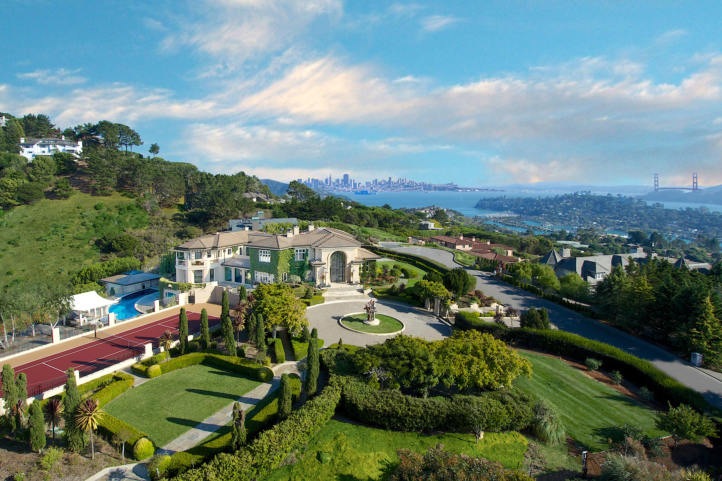 sales property at Stunning Tiburon Estate