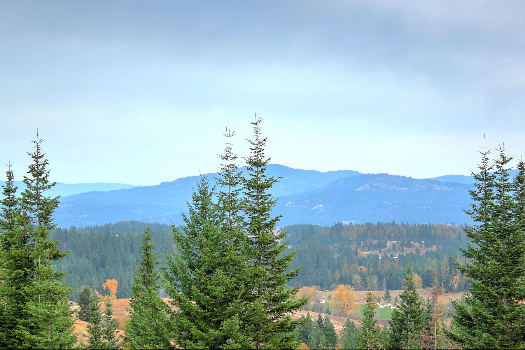 Terrain pour l Vente à Majestic 10 acres with panoramic views 15124 S Gate 7 Ridge Rd. Coeur D Alene, Idaho 83814 États-Unis