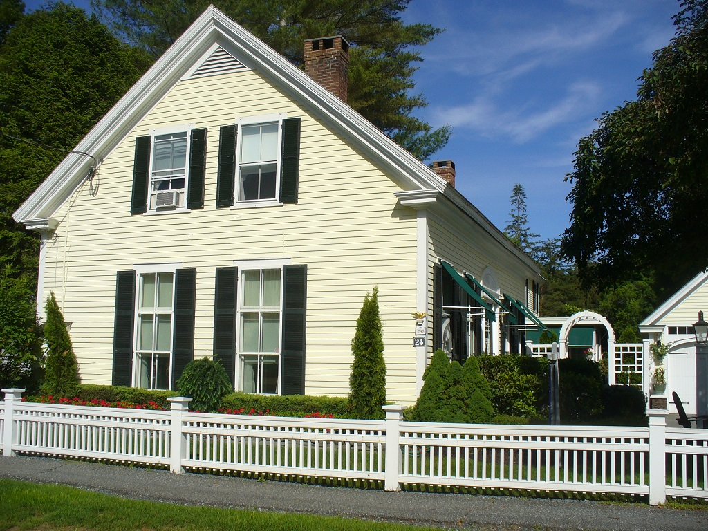 Single Family Home for Sale at Exceptional Woodstock Location 24 River Street Woodstock, Vermont 05091 United States