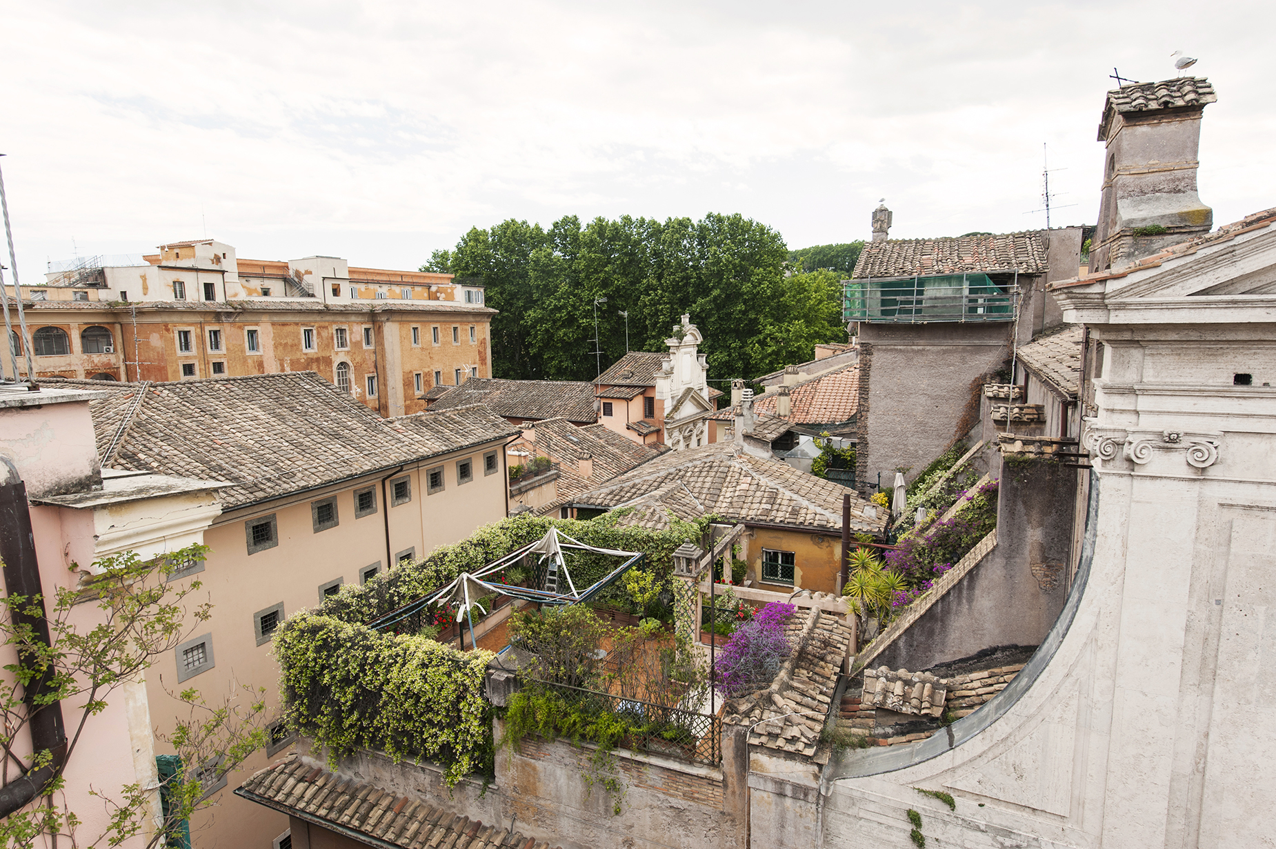 Additional photo for property listing at Charming penthouse in Via Giulia Rome, Rome Italien