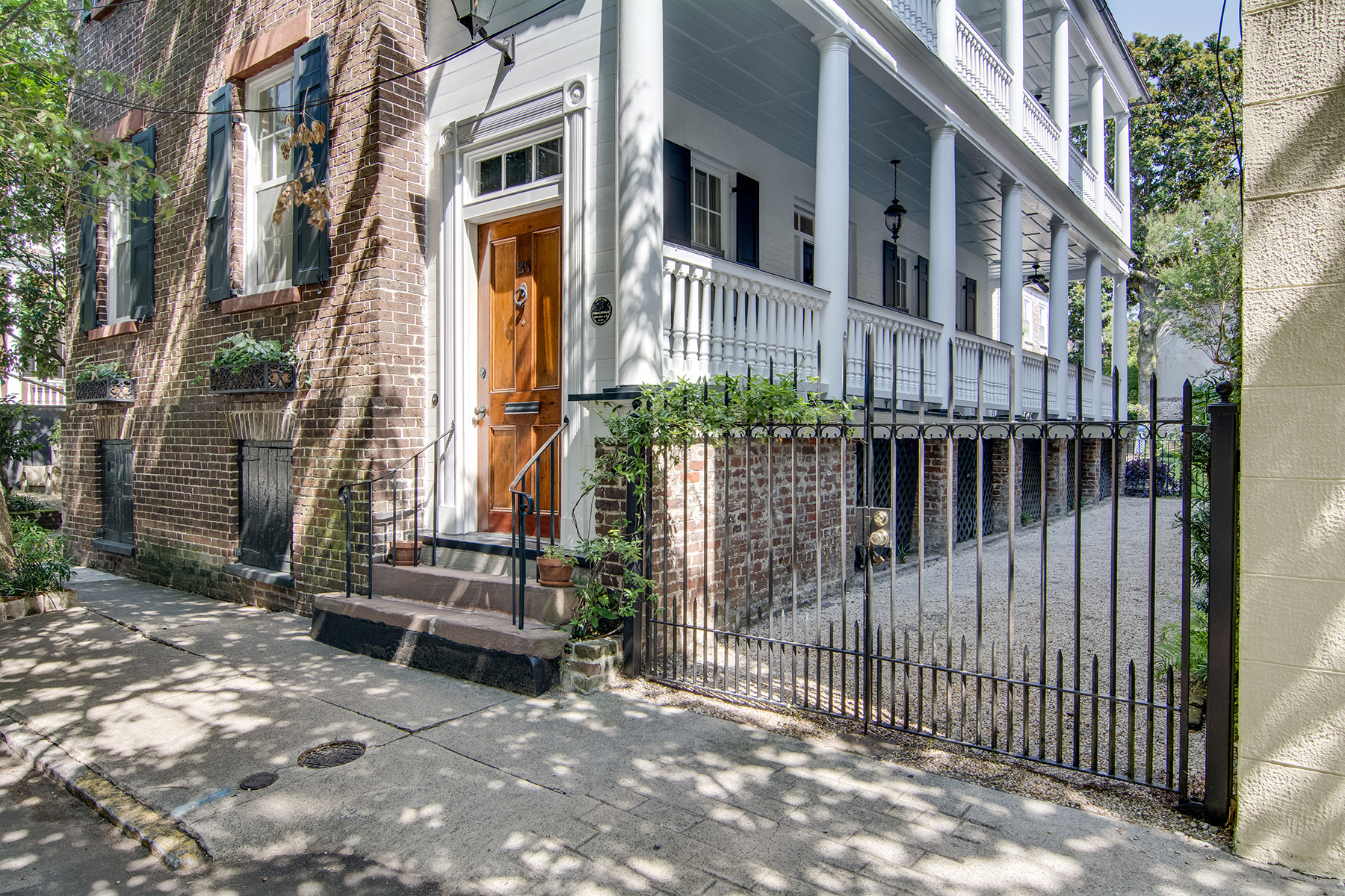 Single Family Home for Sale at Quintessential 19th Century Ansonborough House 21 Wentworth Street Ansonborough, Charleston, South Carolina, 29401 United States