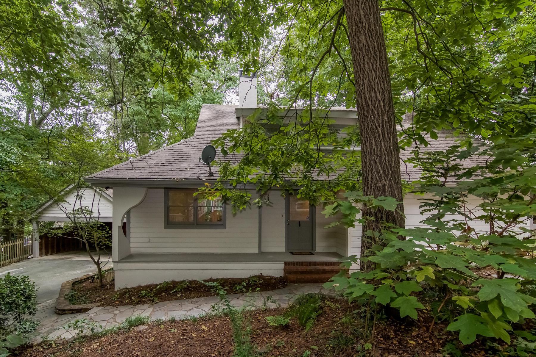 Nhà ở một gia đình vì Bán tại Lovely Private Morningside Home 730 Courtenay Drive NE Morningside, Atlanta, Georgia 30306 Hoa Kỳ