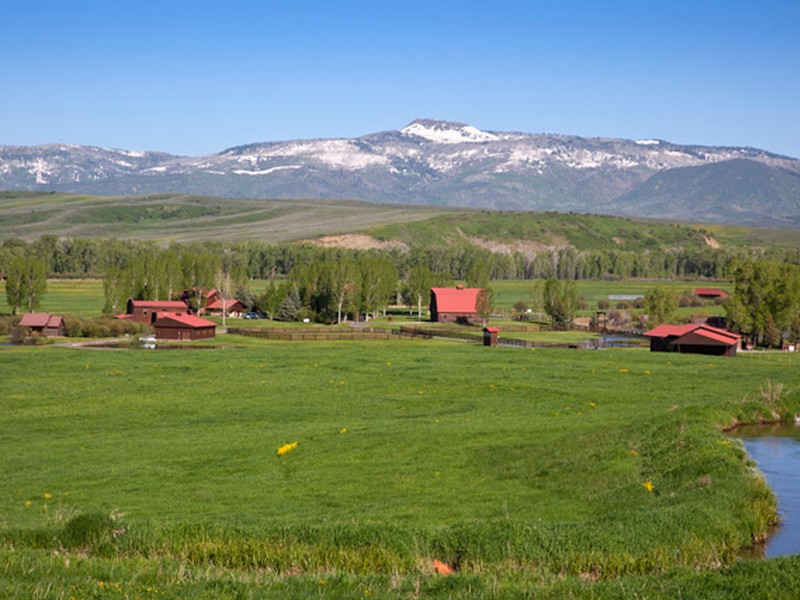 Farm / Ranch / Plantation for Sale at Elk River Ranch 25565 RCR 54 Steamboat Springs, Colorado 80487 United States