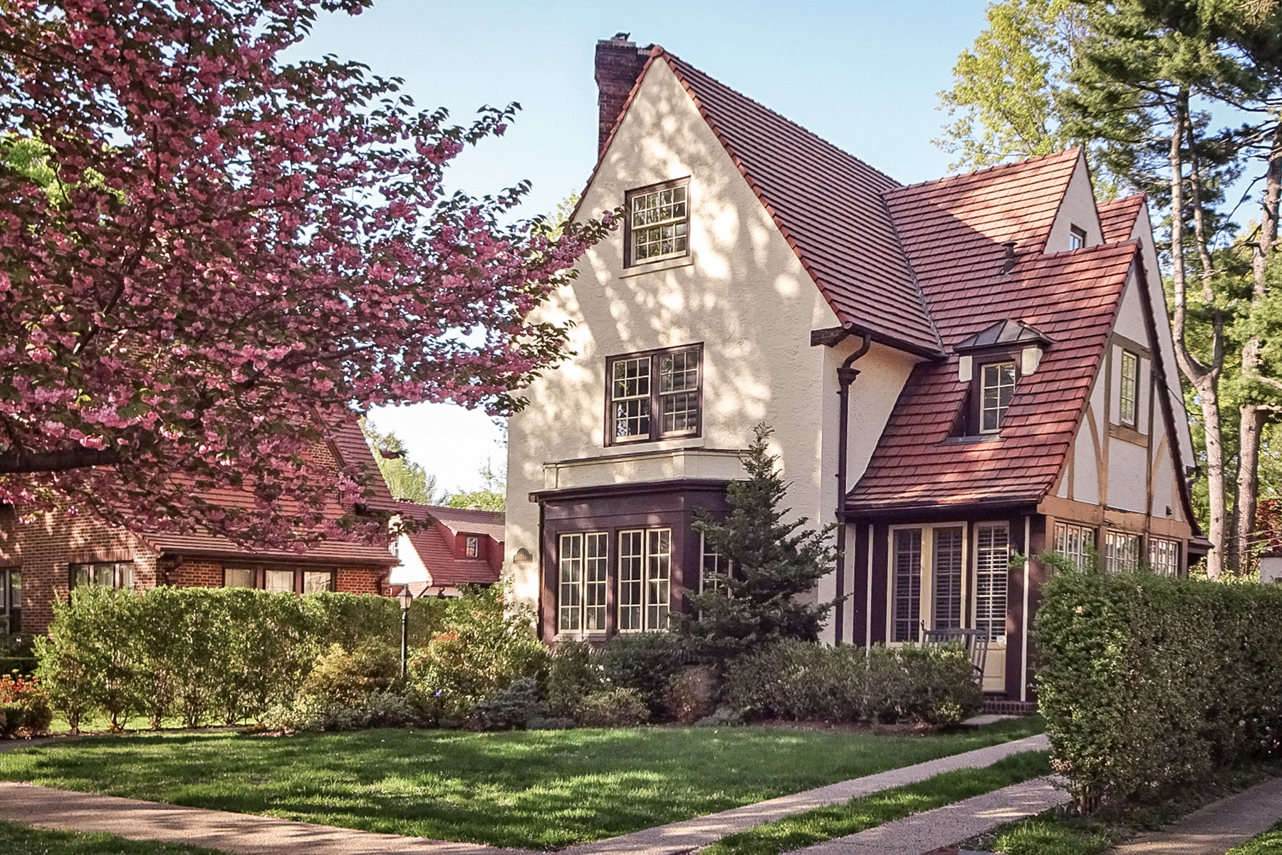 "Single Family Home for Sale at ""PRISTINE BEAUTIFULLY RESTORED TUDOR "" 44 Seasongood Road, Forest Hills Gardens, Forest Hills, New York 11375 United States"